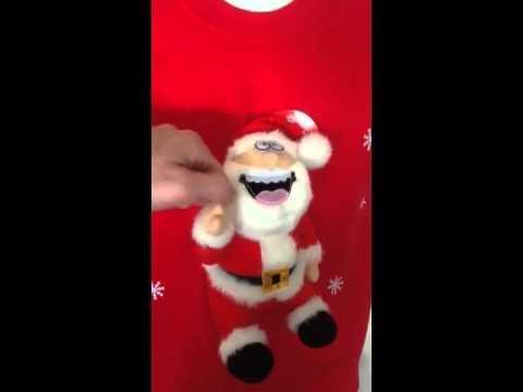 Musical Christmas Jumper Farting Santa
