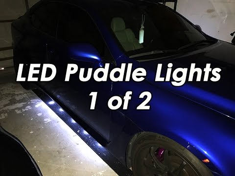 DIY: LED Puddle Lights - Lexus ISF 1/2