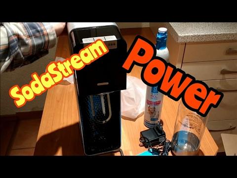 Soda Stream//wassersprudler Easy Noir