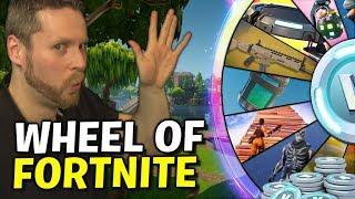 The Wheel of FORTNITE