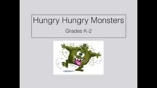 P.E. Games Hungry Hungry Monsters Throwing and Catching K-2