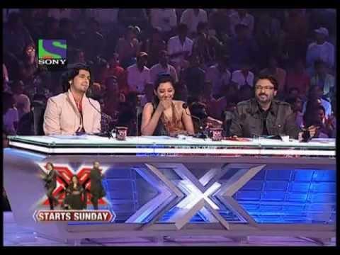 X Factor India 2011 Auditions - Zoobi Doobi & Jaane Jaan Courtesy Sony Entertainment India