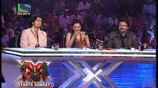 vuclip X Factor India 2011 Auditions - Zoobi Doobi & Jaane Jaan (Courtesy: Sony Entertainment India)