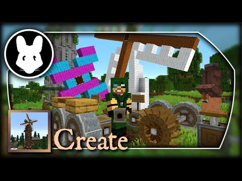 Create: Gears, Crusher, Wind, & Water! Bit-by-Bit By Mischief Of Mice!
