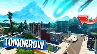 The METEOR Hits TILTED TOWERS Tomorrow? (April 18th Tilted Towers Theory)