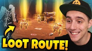 BESTER LOOT ORT/ROUTE IN FORTNITE!