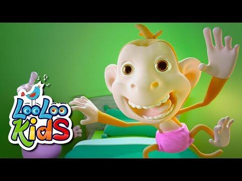 Five Little Monkeys - THE BEST Songs for Children | LooLoo Kids