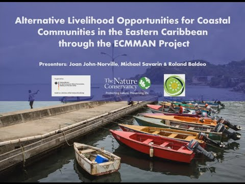 Alternative Livelihood Opportunities for Coastal Communities in the Eastern Caribbean