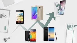 Điểm mặt những chiếc Samsung làm nên tên tuổi đáng nhớ cho dòng Galaxy Note