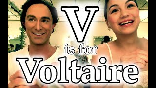 V is for Voltaire (and Vivaldi). Candide at The Ohio Light Opera