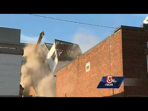 East Boston building falls during demolition