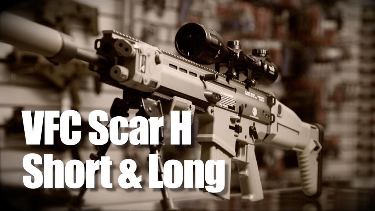 VFC FN SCAR-H MK17 Black AEG Airsoft Rifle