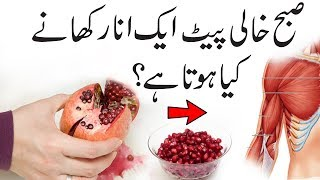 Eat Pomegranate On Empty Stomach In Morning & See What Happens