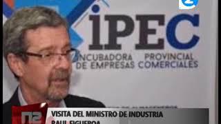 VIENE EL MINISTRO DE INDUSTRIA