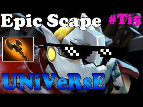 Dota 2 - Universe EPIC SCAPE - EG vs LGD Game 2 - Finals Lower Bracket #TI5