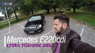 TEST MERCEDES E220CDI (W212) 170KS 7GTRONIC 2012