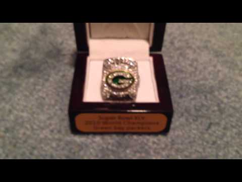 Green Bay Packers Super Bowl 45 Replica Ring From Www.thechampionshiprings.com