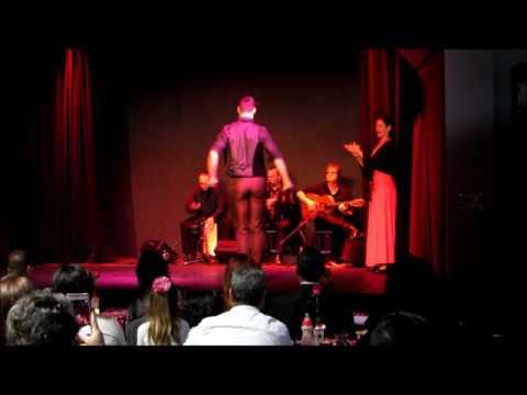 El Cabaret Flamenco with Sarah Parra, Timo Nunez, Jesus Montoya. Kai Narezo, and Joey Heredia