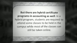What Undergraduate Accounting Degree Program Can You Take Online
