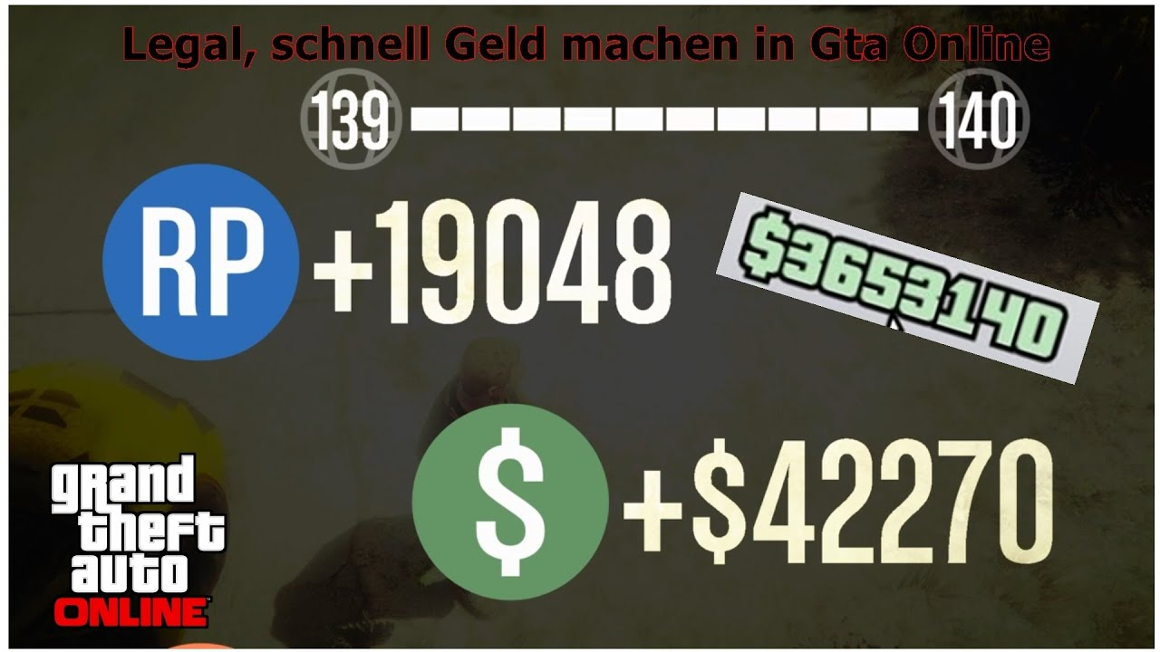 schnell legal geld machen in gta 5 online meine besten methoden youtube. Black Bedroom Furniture Sets. Home Design Ideas