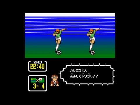 Captain Tsubasa 3 (Super Famicom) - Match 7: São Paulo FC vs. Flamengo