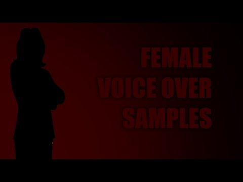 Apple Facilities Female Voice Over Samples