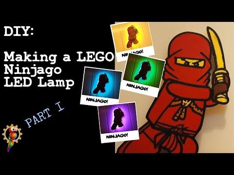 Making a Lego Ninjago LED Lamp [Part 1 of 2]