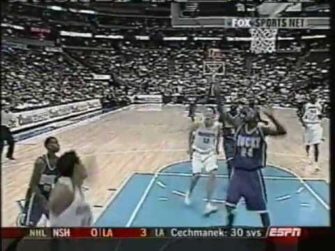 Chris Andersen - Birdman Arrives (2003 Lob From Andre Miller)