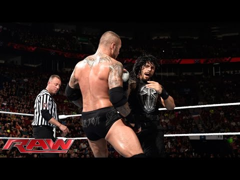 Roman Reigns vs. Randy Orton: Raw, May 4,...