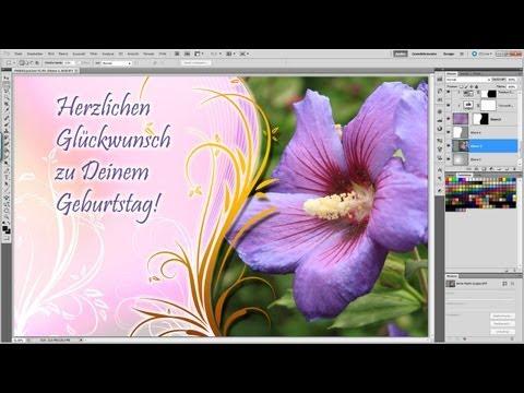 Photoshop / Illustrator Tutorial - Postcard design