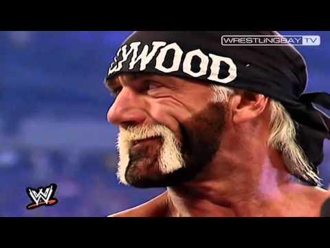 Hulk Hogan vs The Rock - WM 18 Opening of the match