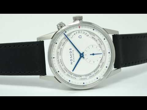 Nomos Zurich Worldtimer Topper Edition