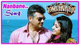 Mankatha Movie Scenes | Nanbane Song | Trisha realise truth about Ajith | Vaibhav