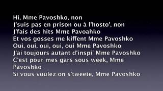 Black M - Mme Pavoshko (paroles)