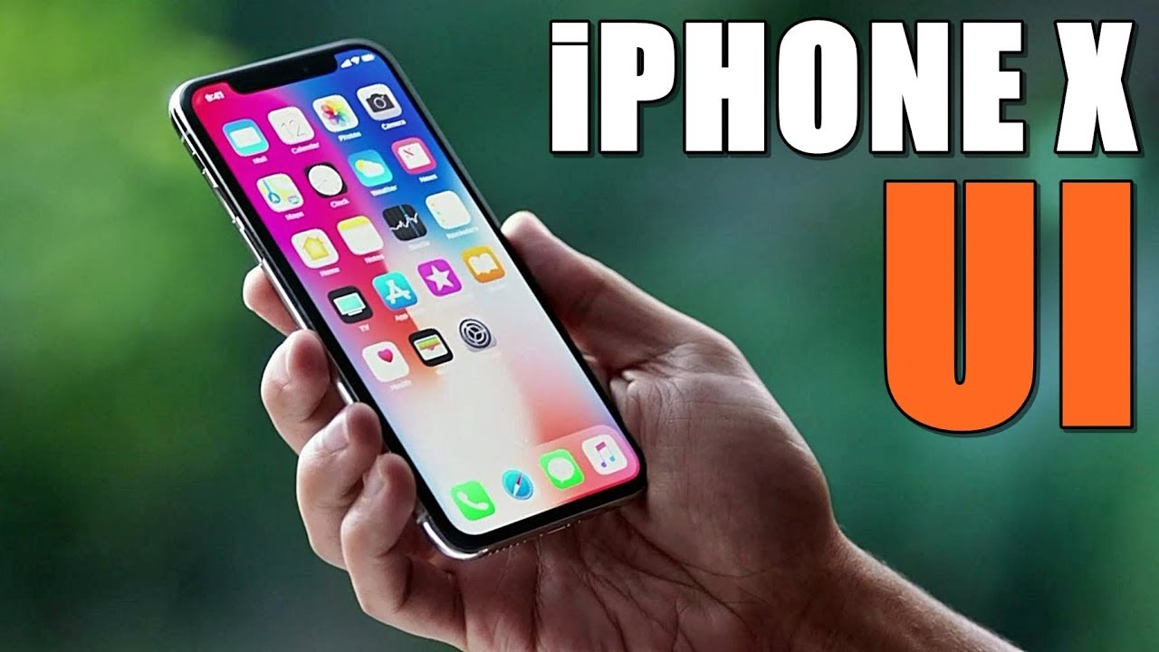 Iphone X User Interface Ios 11
