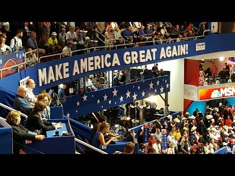 FNN: Full Coverage GOP Convention Day 2 - Including Trump Protests in Public Square