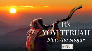 YOM TERUAH (Blow the Shofar!) FEAST of TRUMPETS SONG by miYah