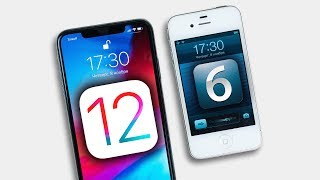 iPhone Xs Max на iOS 12 vs iPhone 4S на iOS 6 – ТАКОГО Я НЕ ОЖИДАЛ!
