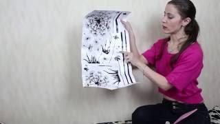 видео Декоративные наклейки на стену