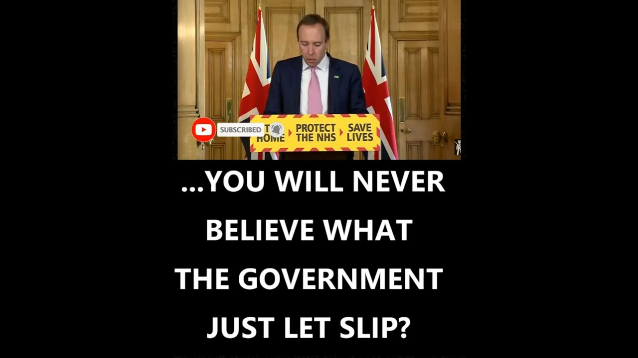 You will never believe what the Government just let slip?