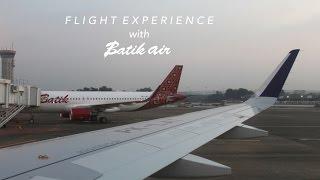 BATIK AIR AIRBUS A320-200 FLIGHT EXPERIENCE (ID6370)