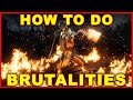 Mortal Kombat 11: How to Do Brutalities