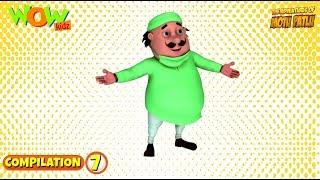Motu Patlu - Non stop 3 episodes   3D Animation for kids - #7