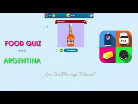 Food Quiz Argentina Pack 5 - All Answers - Walkthrough