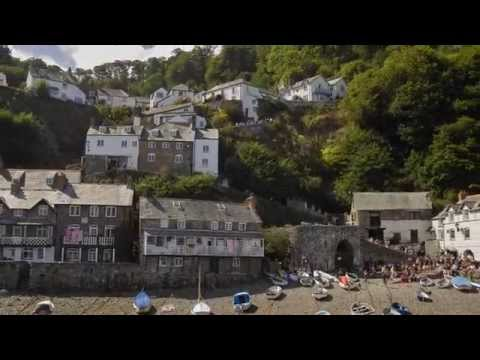 Clovelly Village And Harbour Devon.