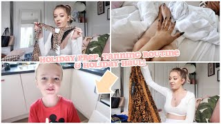 PACK & PREP WITH ME FOR HOLIDAY! TANNING ROUTINE AND CLOTHING HAUL!