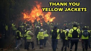 Yellow Jacket Protests In Paris, France - Citizen's Still Have A Voice!!!