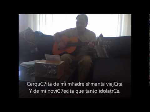 Gardel - Adios muchachos (a la guitarra, con acordes en pantalla)
