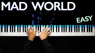 Download Mad World - Gary Jules ver. | Piano tutorial | Karaoke Mp3 and Videos