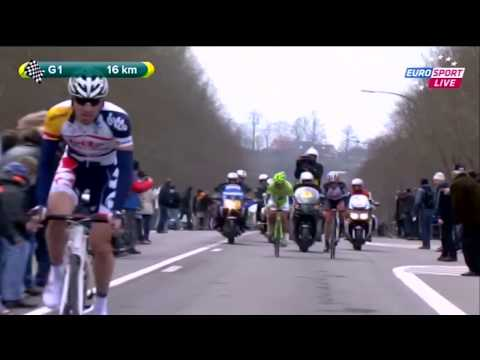 Tour de Flandes Cancellara Sagan 31-3-2013 from YouTube · Duration:  13 minutes 35 seconds
